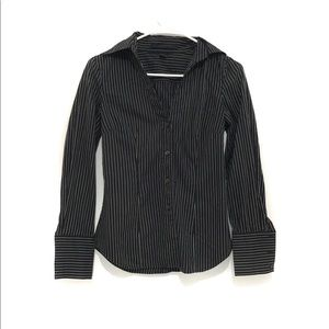 Express Striped Button Down Shirt Modern Fit